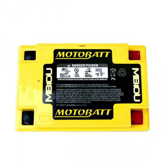 Μπαταρία MOTOBATT MB10U - GEL | 15AH / Volt:12 / EN:175 / Πολικότητα: Αριστερά και Δεξιά +