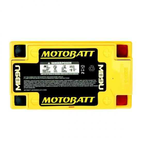 Μπαταρία MOTOBATT MB9U - GEL | 10,5AH / Volt:12 / EN:140 / Πολικότητα: Αριστερά και Δεξιά +