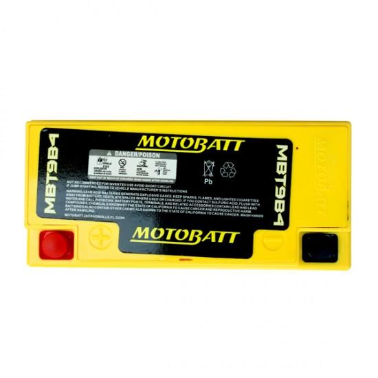 Μπαταρία MOTOBATT MBT9B4 - GEL | 9AH / Volt:12 / EN:115 / Πολικότητα: Αριστερά και Δεξιά +