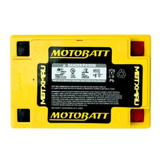 Μπαταρία MOTOBATT MBTX14AU - GEL | 16,5AH / Volt:12 / EN:210 / Πολικότητα: Αριστερά και Δεξιά +