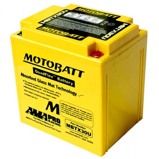 Μπαταρία MOTOBATT MBTX30U - GEL | 32AH / Volt:12 / EN:390 / Πολικότητα: Αριστερά και Δεξιά +
