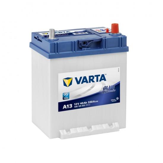 Μπαταρία Varta A13 Blue Dynamic | 540 125 033 | 40AH / Volt:12 / EN:330 / Πολικότητα: Δεξιά το +
