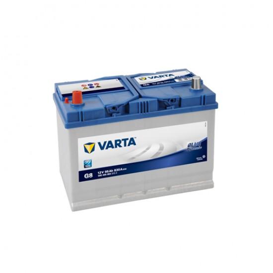 Μπαταρία Varta G8 Blue Dynamic | 595 405 083 | 95AH / Volt:12 / EN:830 / Πολικότητα: Αριστερά το +