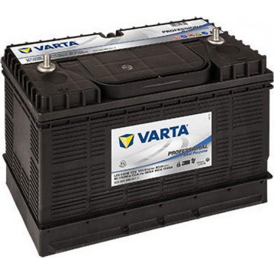 Μπαταρία Varta LFS105M Profesional Marine | 820 054 080 | 105AH / Volt:12 / EN: 800 / Πολικότητα: Βιδα Αριστερα και Δέξια (Κέντρο)
