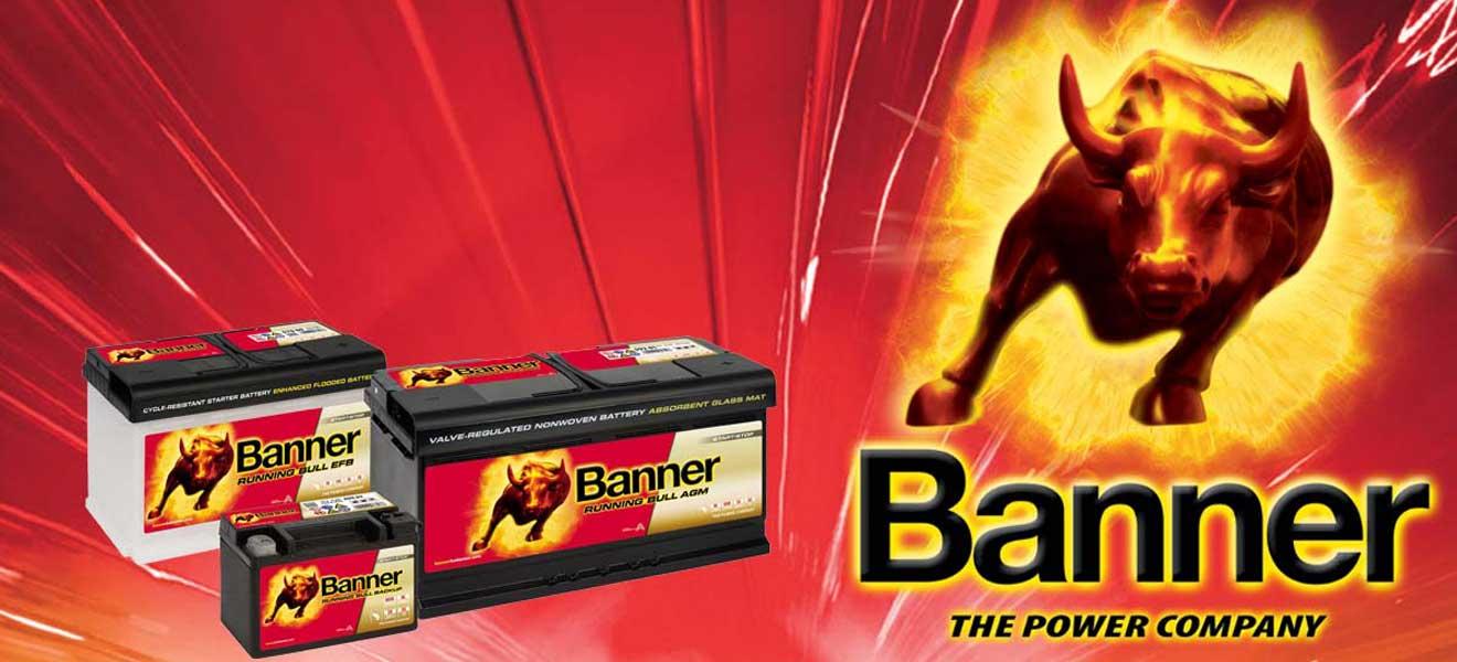 Αυστριακές μπαταρίες BANNER