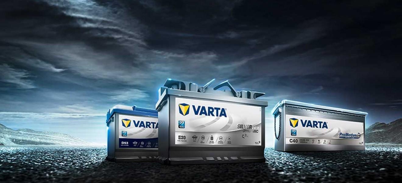 Μπαταρίες VARTA