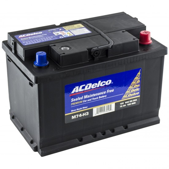 ACDelco SMF M74H3 72Ah